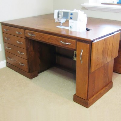 Custom Sewing Cabinets