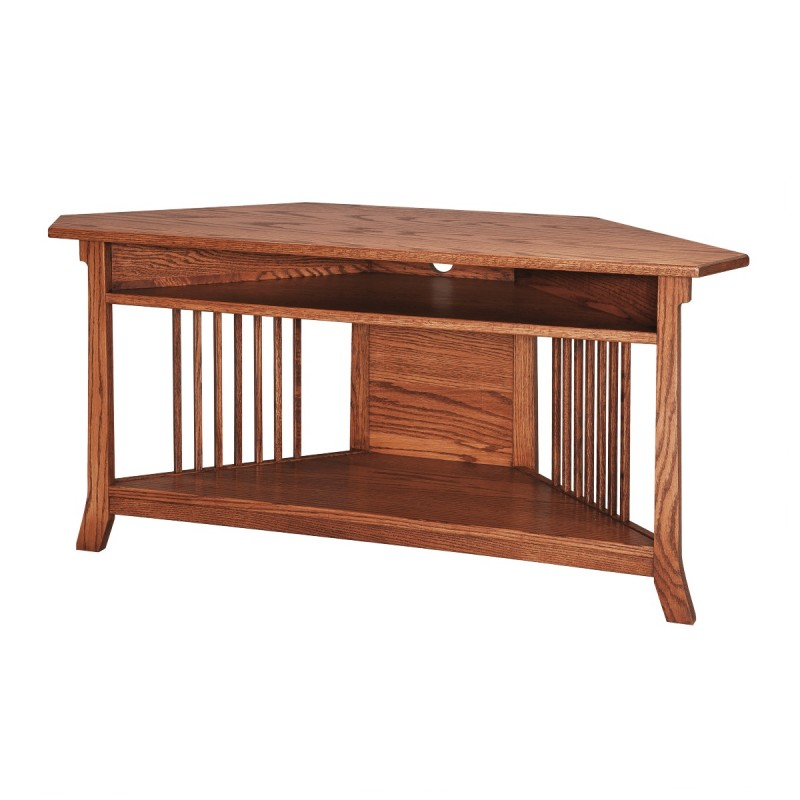 Royal Small Corner Tv Stand Amish Royal Small Corner Tv