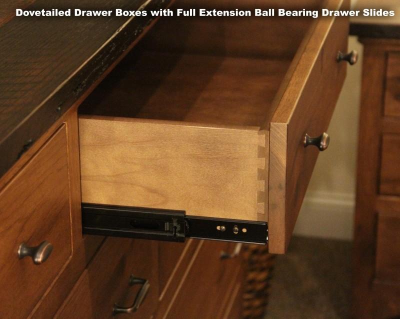barnwood 3 drawer night stand amish barnwood 3 drawer night