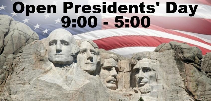 Open Presidents Day