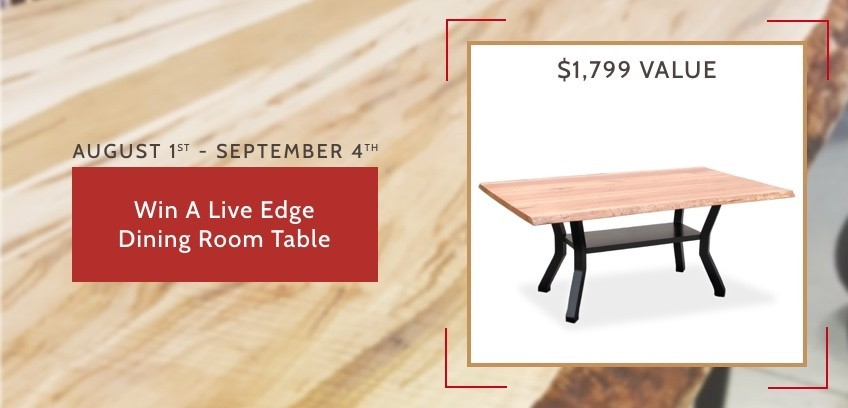 Win A Live Edge Table