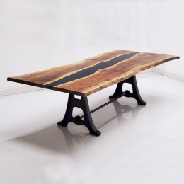 Walnut Live Edge River Table