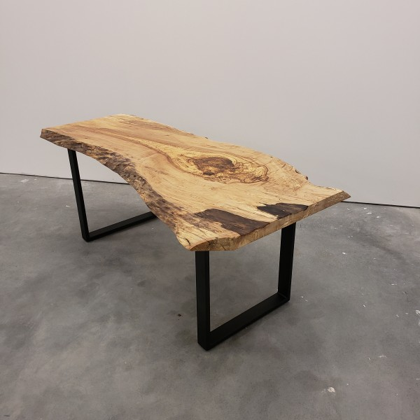 Maple Live Edge Desk