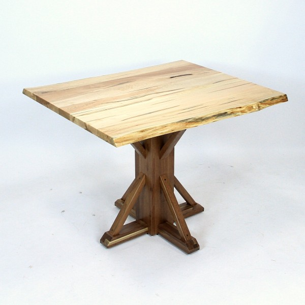 Live Edge Cobbler Pub Table