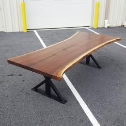 Walnut Live Edge SLAB Table