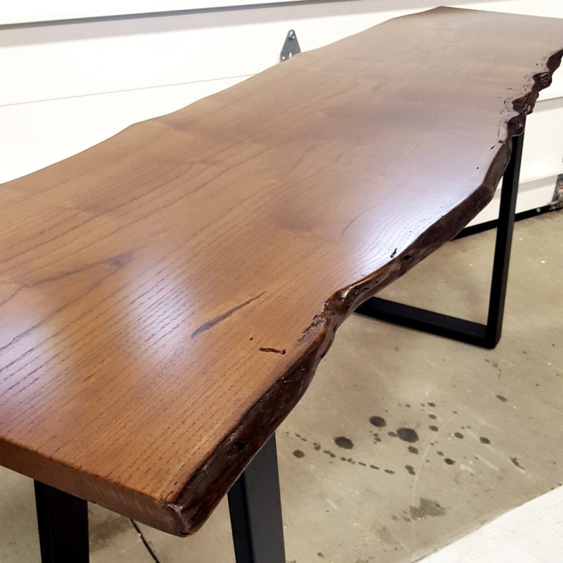 Mulberry Live Edge Sofa Table In Pa Custom Country Lane Furniture - Live Edge Sofa Table