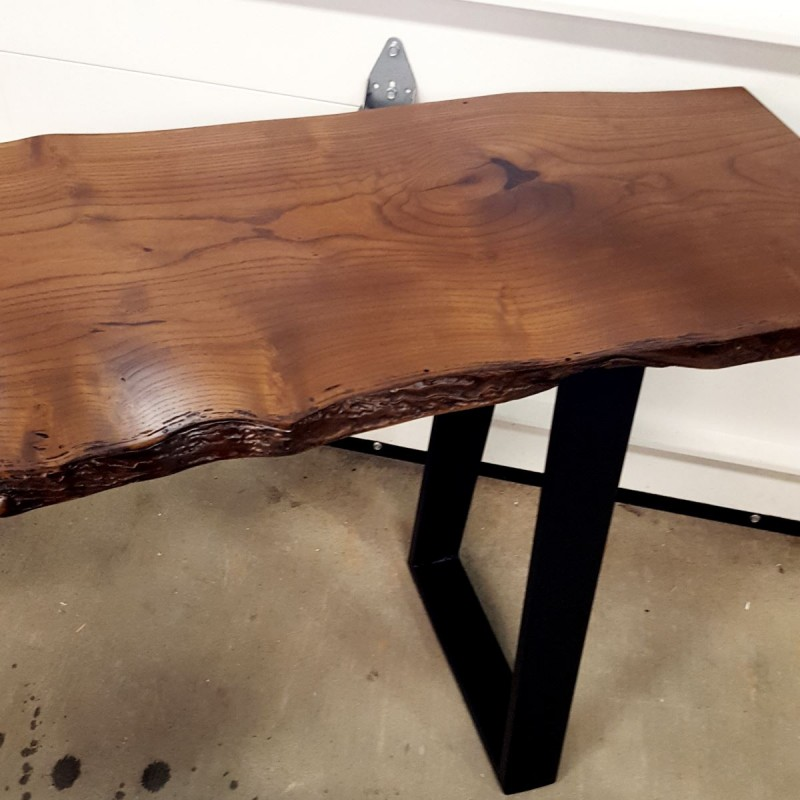 Mulberry Live Edge Sofa Table Live Edge Table In Pa