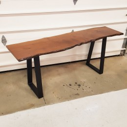Mulberry Live Edge Sofa Table