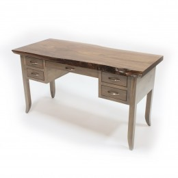 Walnut Live Edge Writing Desk