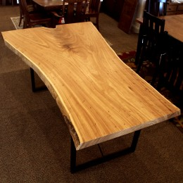 Elm Live Edge SLAB Table