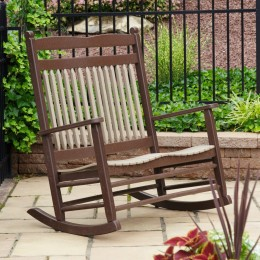 Zinn's Mill Poly Loveseat Rocker