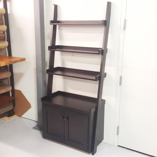 Ladder Wall Shelf With Storage