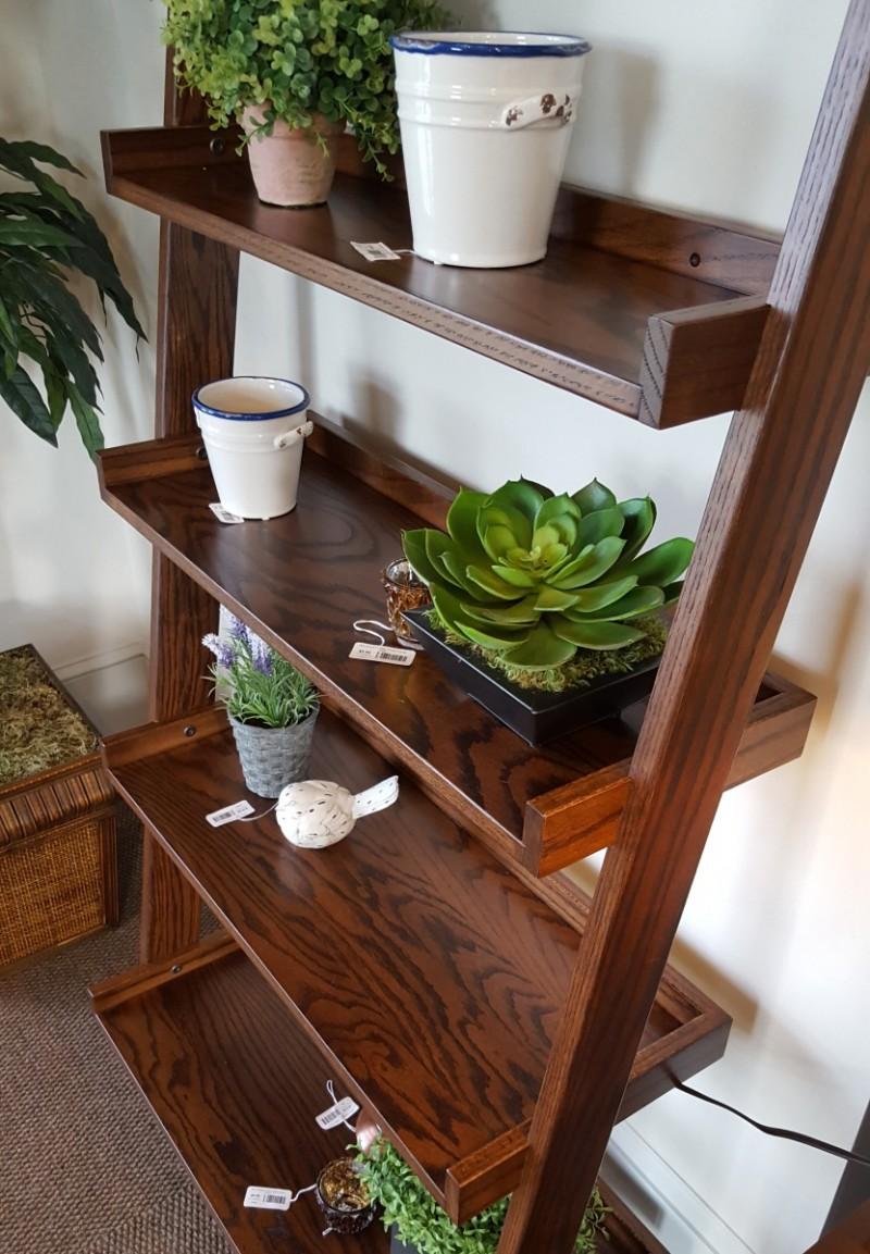 Amish Made Ladder Shelf Wall Shelf Country Lane Furniture