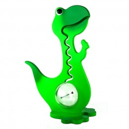 Green Dinosaur Squiggly Bank
