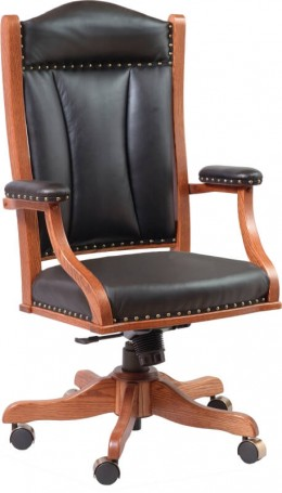 desk chairs - solid hardwood, amish made in central pa - country