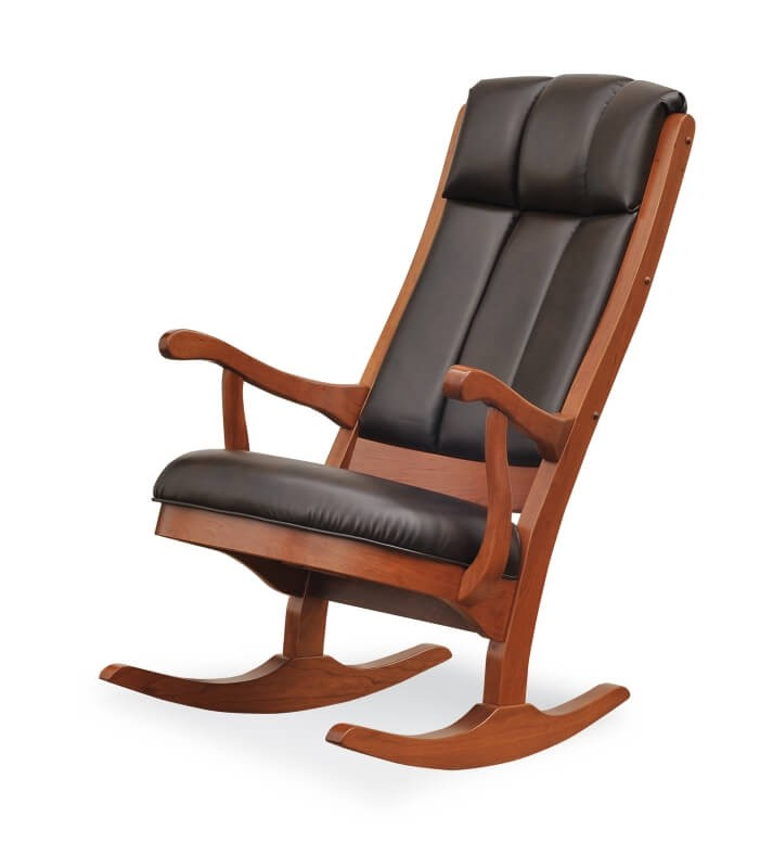 Lincoln Rocking Chair Amish Crafted Solid Wood