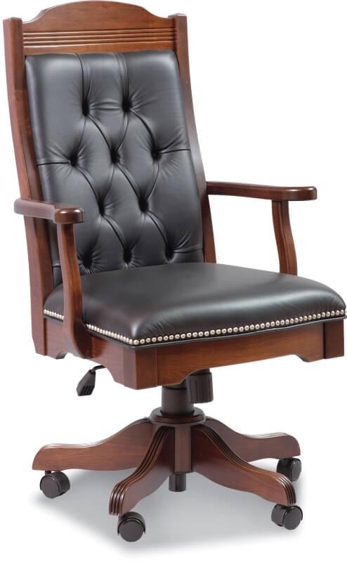 Executive Desk Chair Amish Made Custom Options