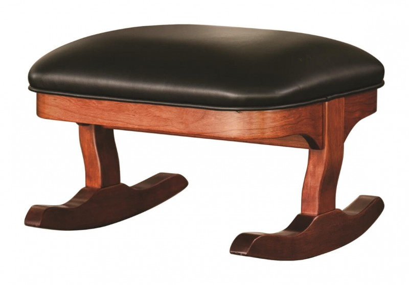 Rommt Rocking Footstool Amish Crafted Solid Wood