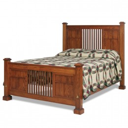 Deluxe Mission Bed