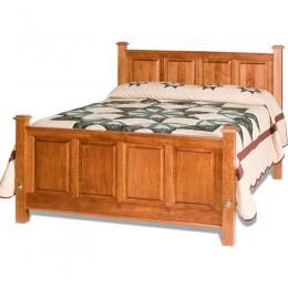 Shaker Raised Panel Bed