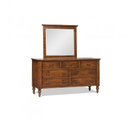 Canyon Creek Triple Dresser & Mirror