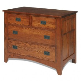 Deluxe Mission Single Dresser