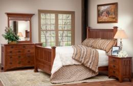 Deluxe Mission Bedroom Set