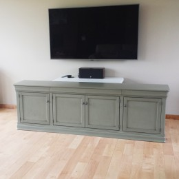 Custom Maple Le Chateau TV Stand