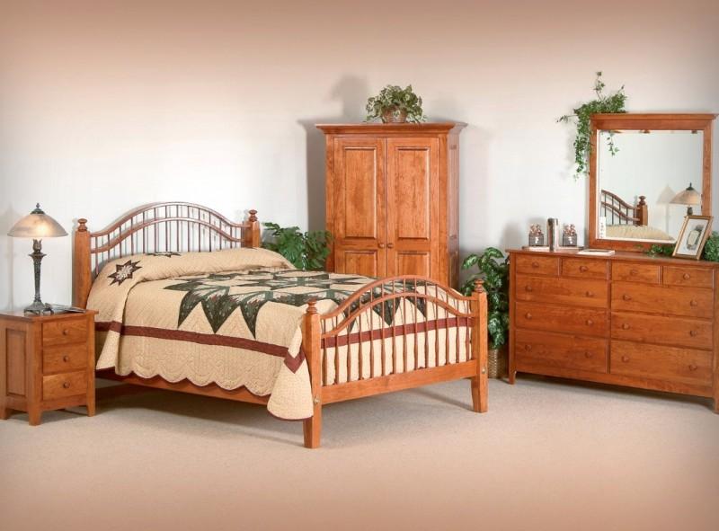 Shaker Bedroom Set Amish Handcrafted Solid Hardwood