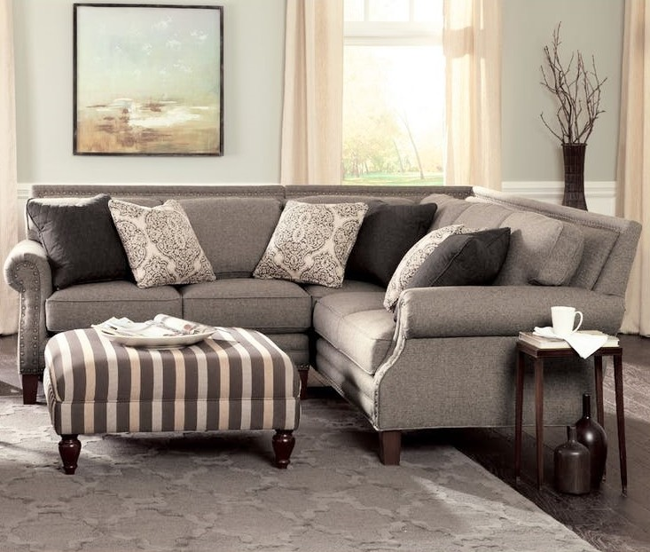 Sectional Sofa W/ Hickorycraft Upholstery