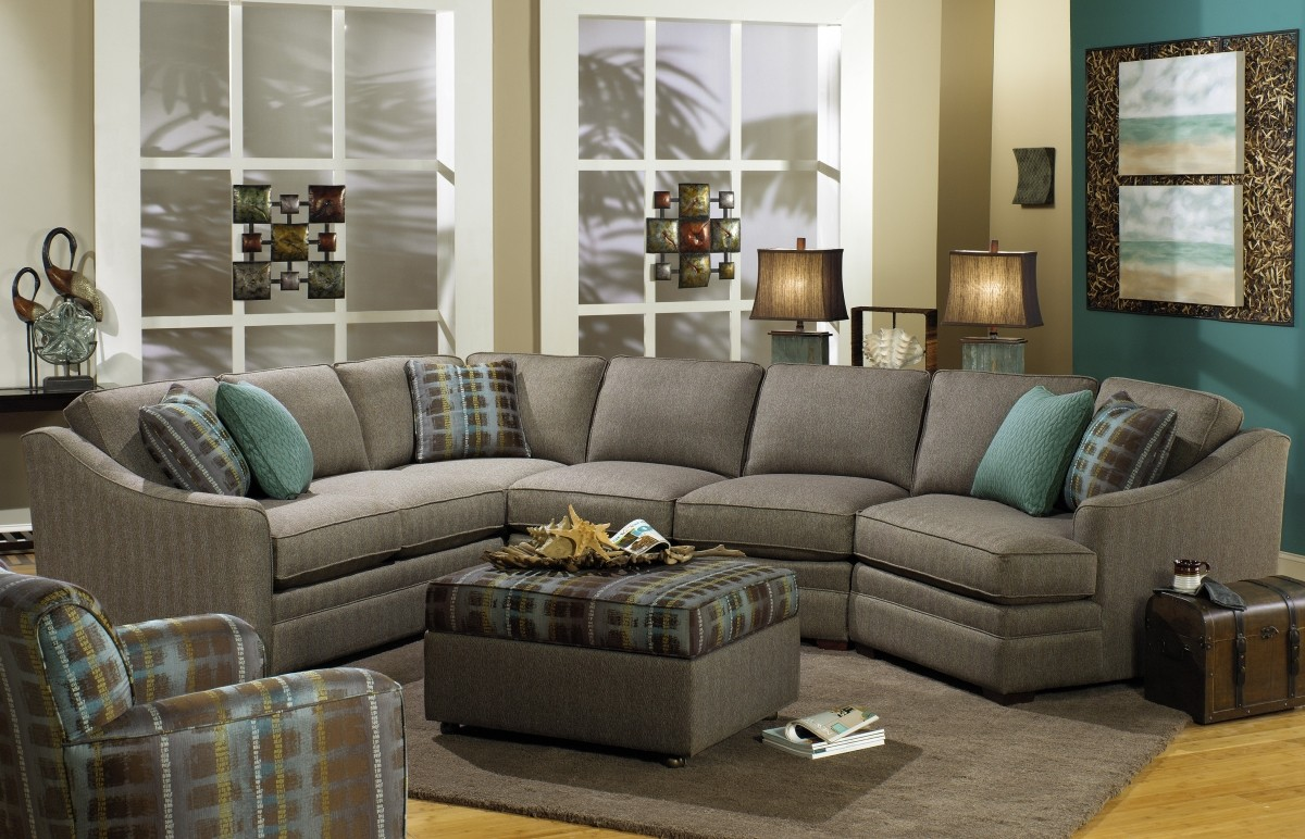 F9 Sectional Hickorycraft Upholstery Country Lane