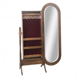 Lexington Oval Jewelry Cheval Mirror