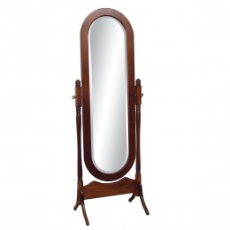 Lexington Oval Cheval Mirror