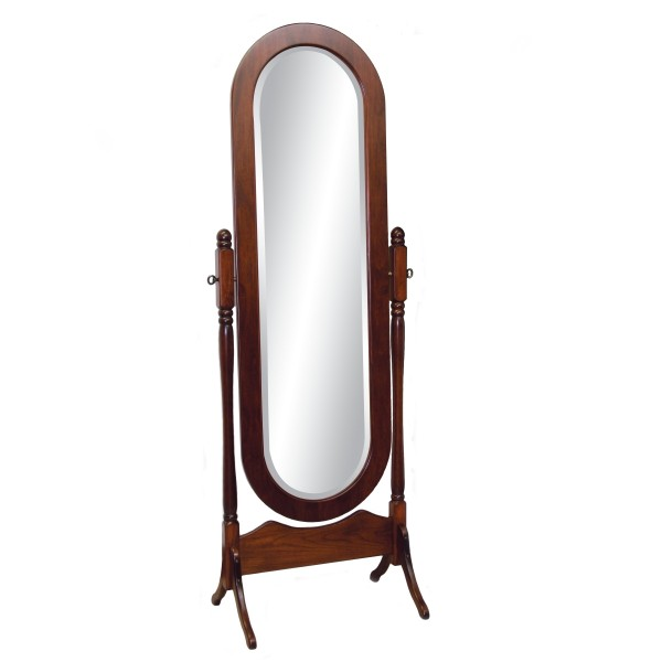 Lexington oval jewelry cheval mirror country lane furniture for Mirror 600 x 600