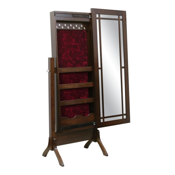 Colonial Mission Jewelry Cheval Mirror
