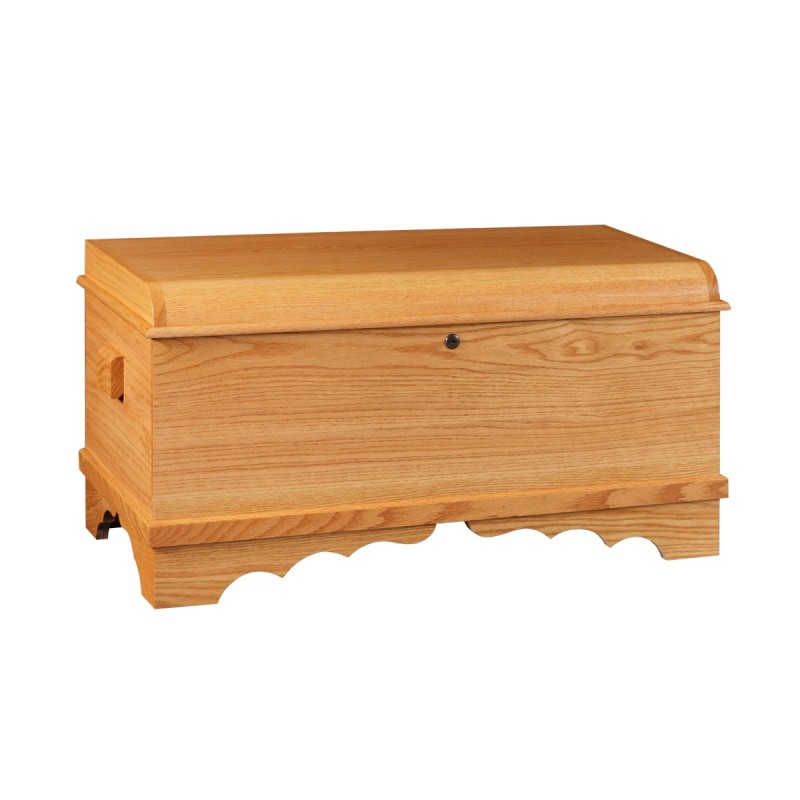 Harmony Small Blanket Chest Oak Amp Cherry Blanket Chests
