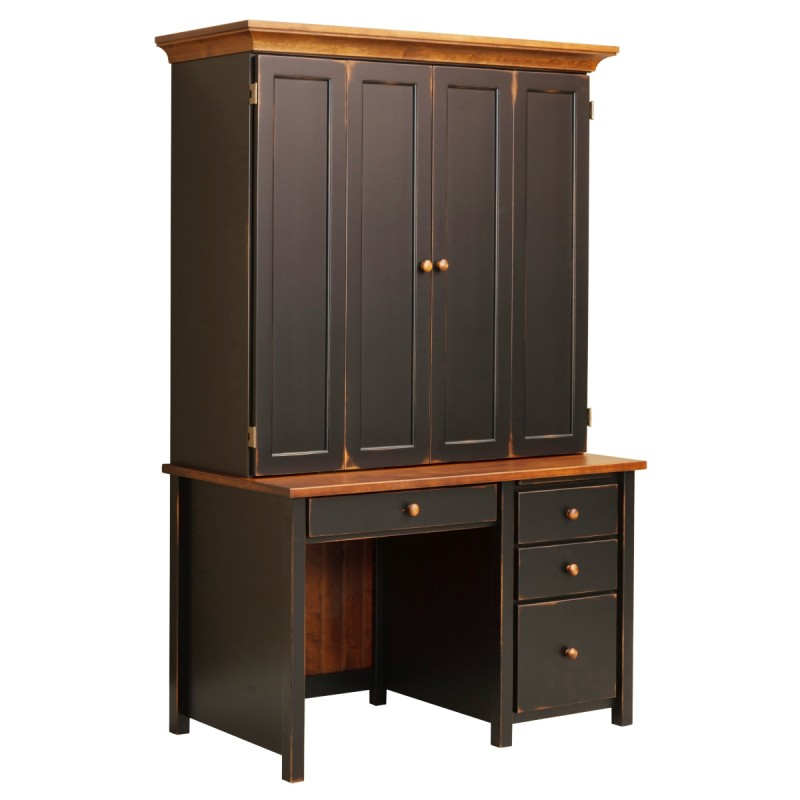 cabinets for outdoor kitchen boyer ave single pedestal desk with hutch solid hardwood 5078