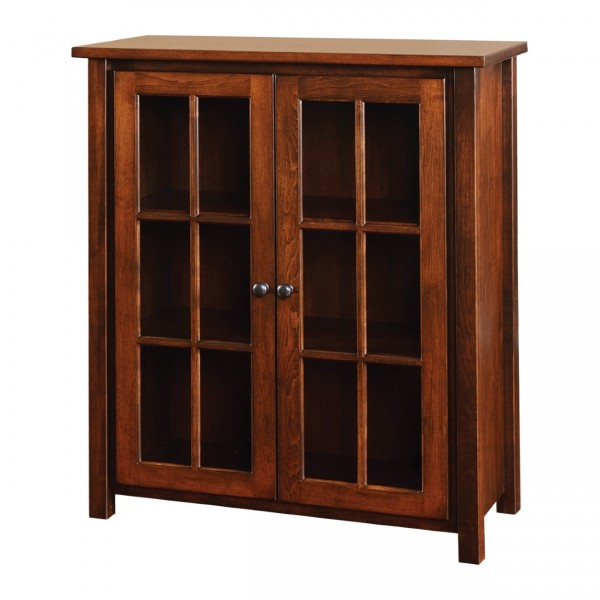 Boyer Ave Bookcase with Doors