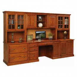 Ridge Ave Office Wall Unit