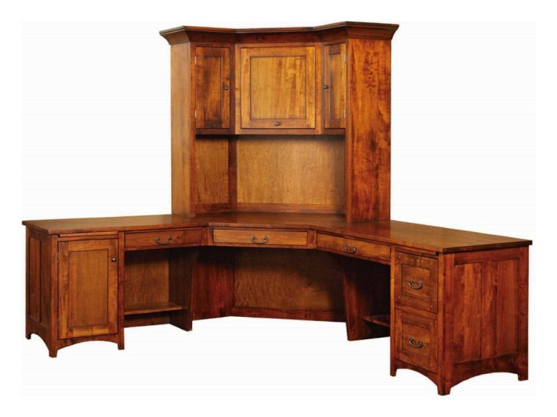 Superb Park Ave Corner Desk With Hutch ...
