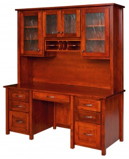 Lexington Ave Desk with Hutch