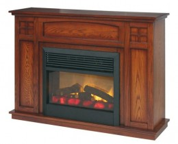 Mission Fireplace Mantel