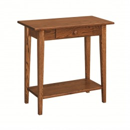 Shaker Console Table With Shelf