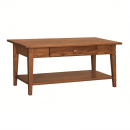 Shaker Coffee Table With Shelf