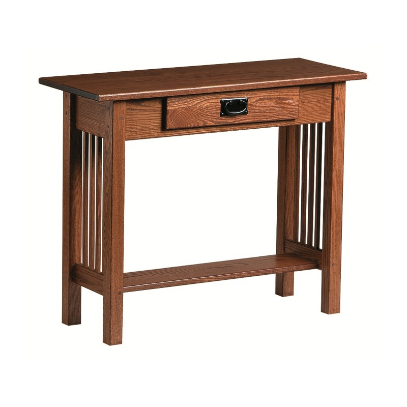 Mission Console Table Amish Mission Console Table