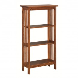 Mission 2' Open Bookcase