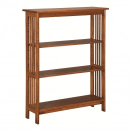 Mission 3' Open Bookcase