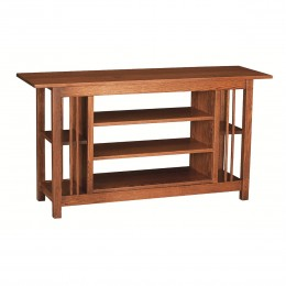 Mission Large Open TV Stand
