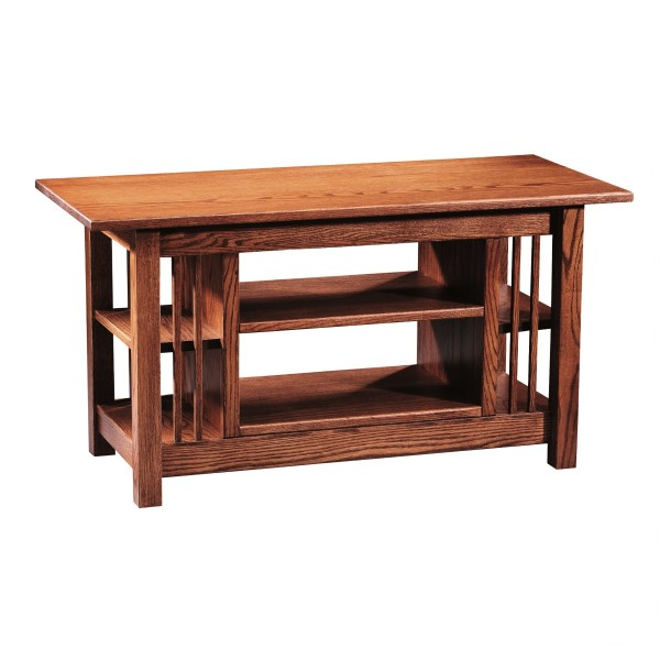 Mission Open TV Stand