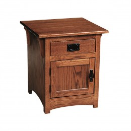 Mission Cabinet End Table